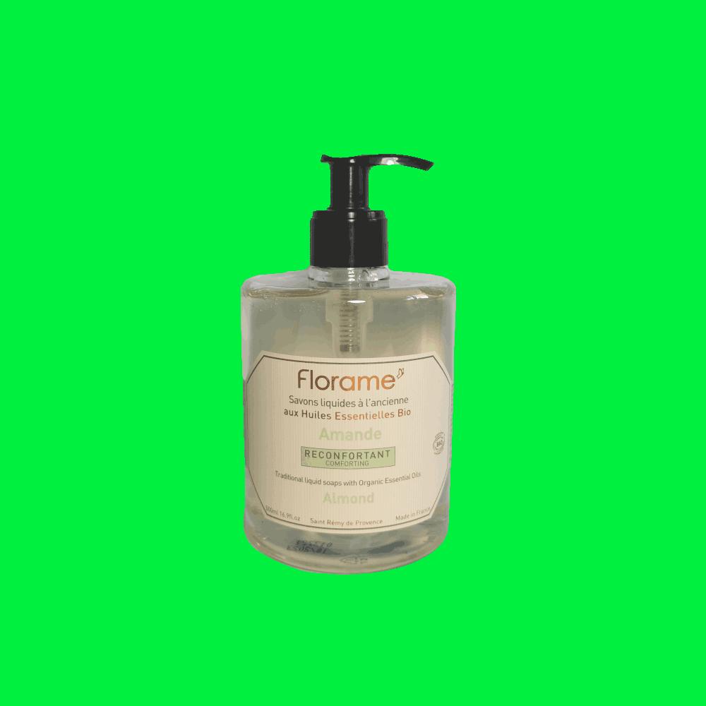 Savon Liquide Artisanal Amande Douce - Florame - 500ml