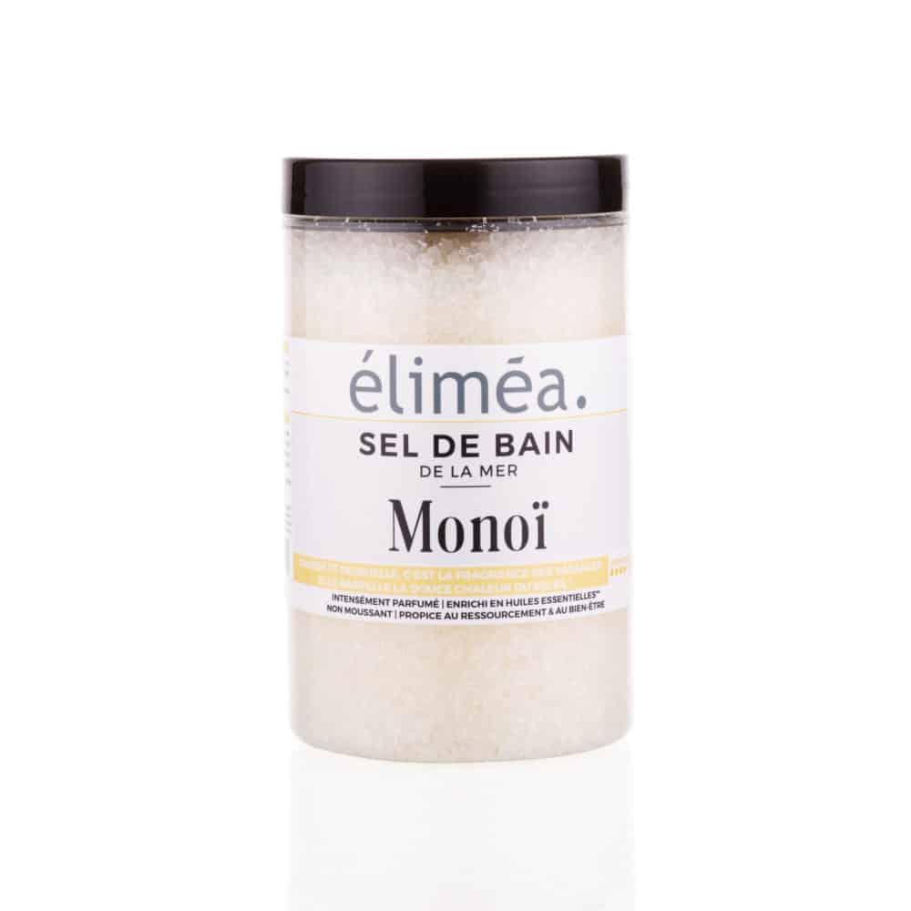 Sel de bain parfumé au Monoï - Éliméa - 500g
