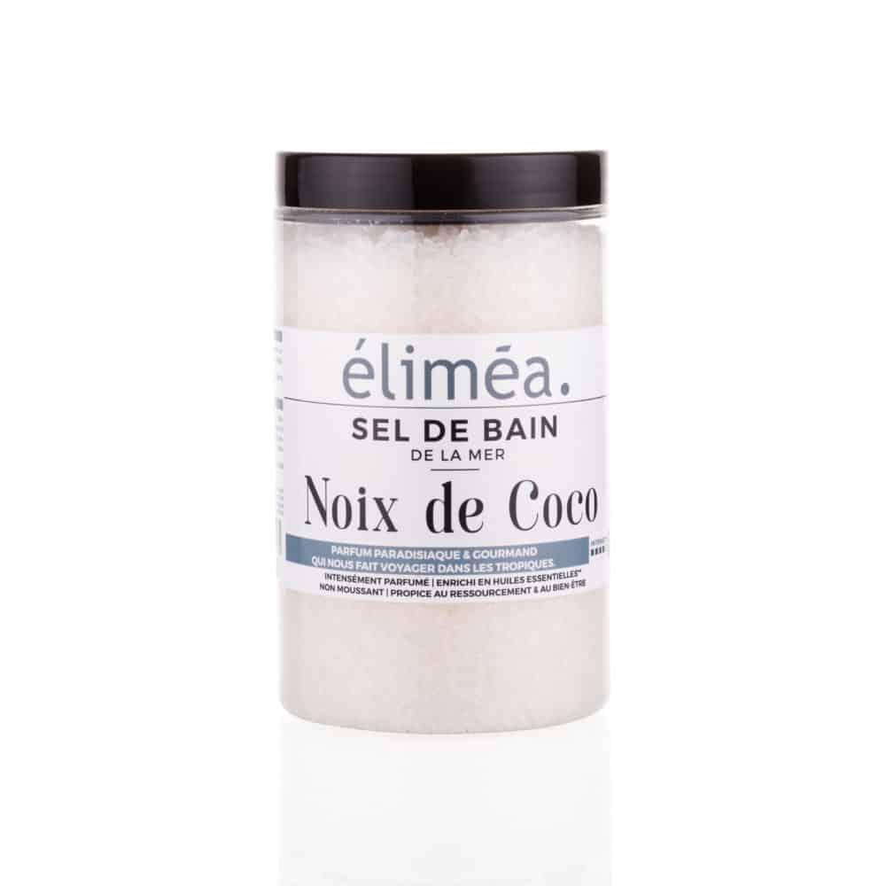 Sel de bain parfumé à la Noix de Coco - Éliméa - 500g