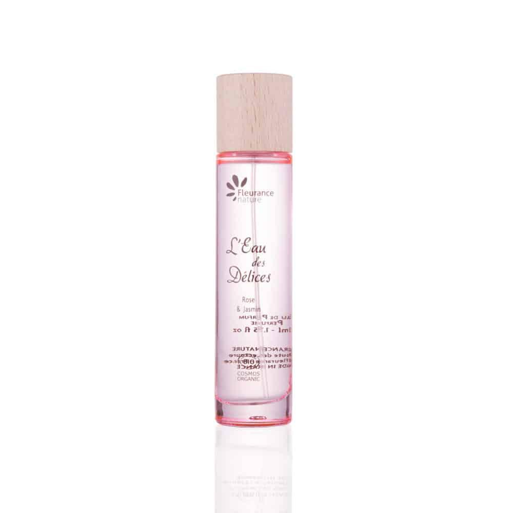 Eau de Parfum Femme Rose & Jasmin Bio - Fleurance Nature - 50ml