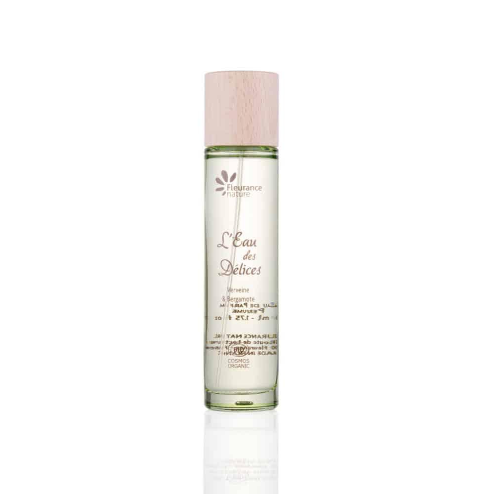 Eau de Parfum Femme Verveine Bergamote Bio - Fleurance Nature - 50ml