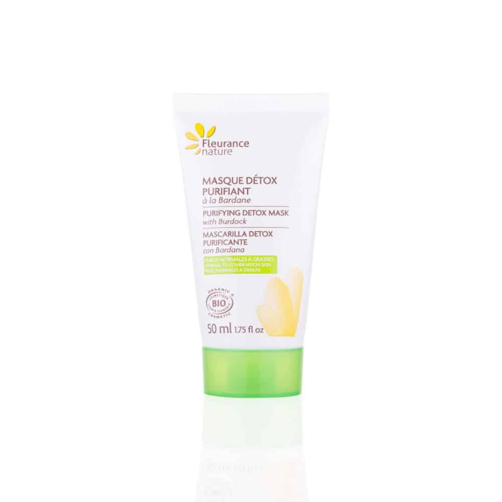 Masque Detox Purifiant à la Bardane Bio - Fleurance Nature - 50ml
