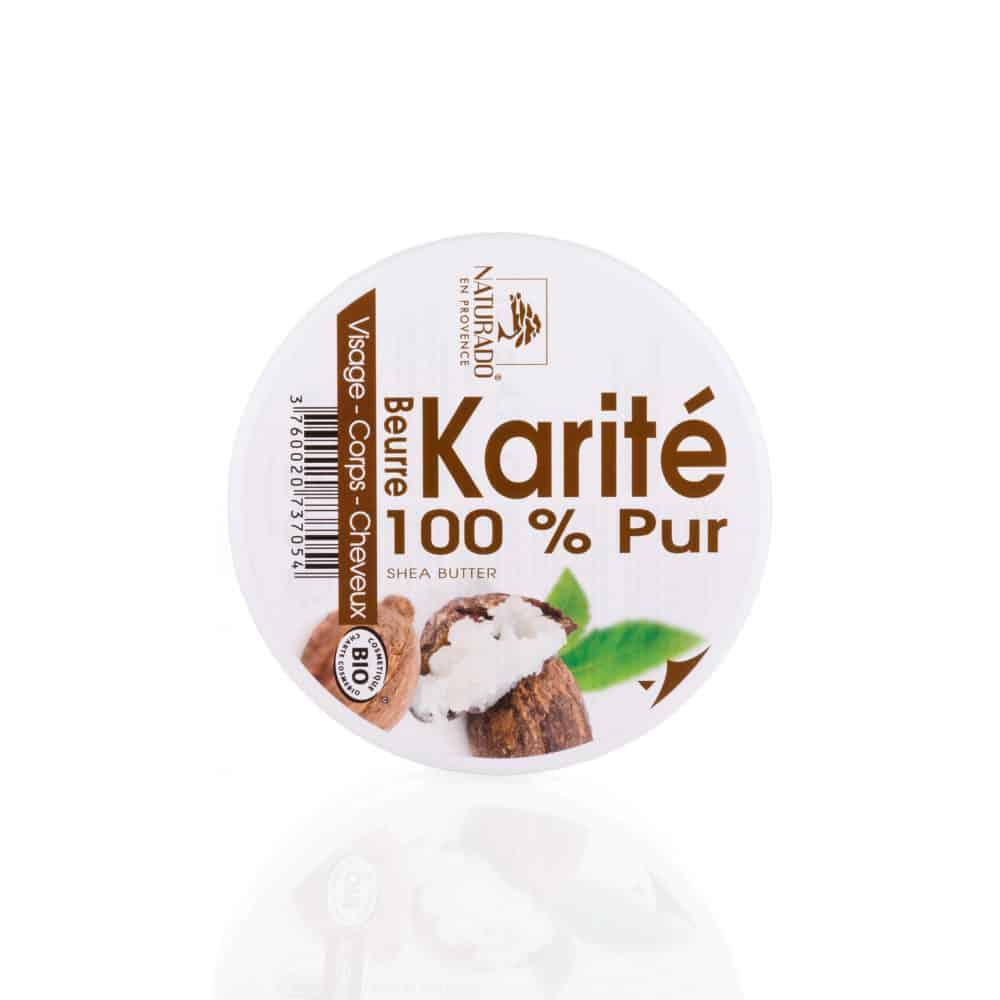 Beurre de Karité Pur Bio - Naturado - 135g