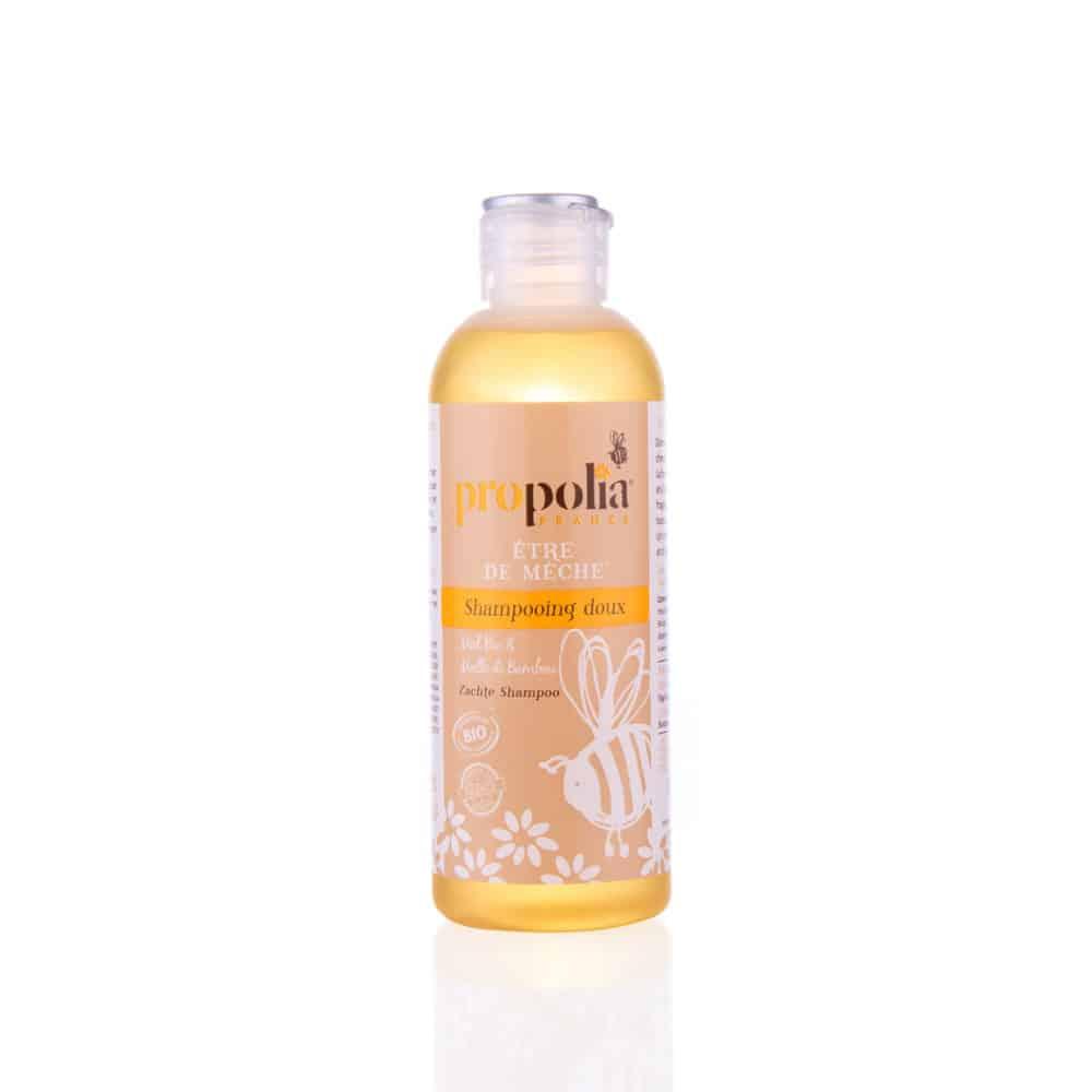 shampooing doux au miel bio cheveux fragiles propolia