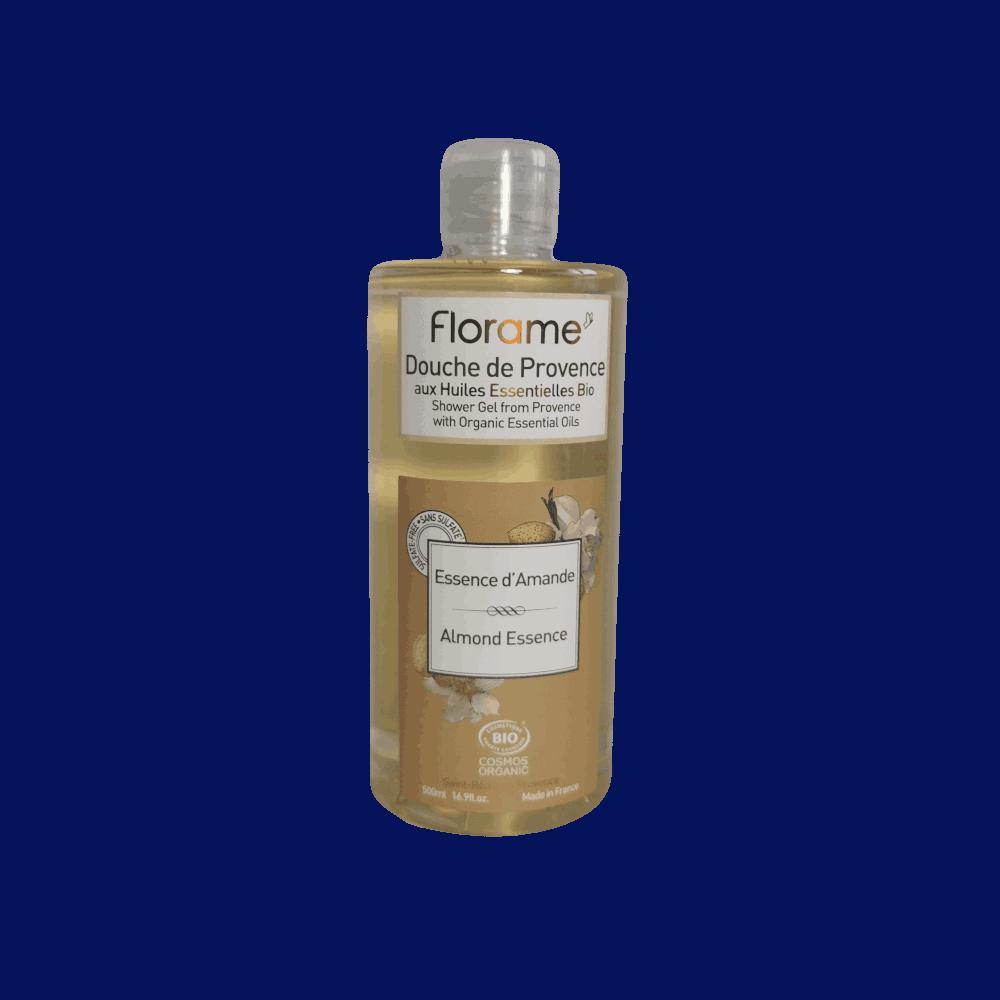 Gel Douche de Provence amande douce bio Essence d'Amande BIO - Florame - 200ml