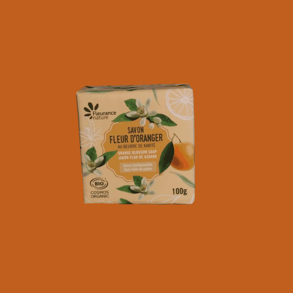 Savon parfumé Fleur d'Oranger BIO - Fleurance Nature - 100g