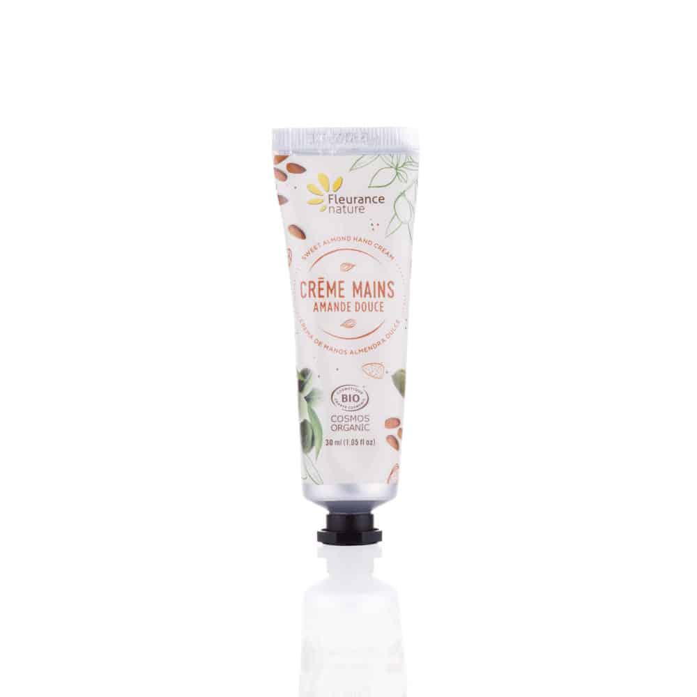 Crème Mains à l'Amande Douce Bio - Fleurance Nature - 30ml
