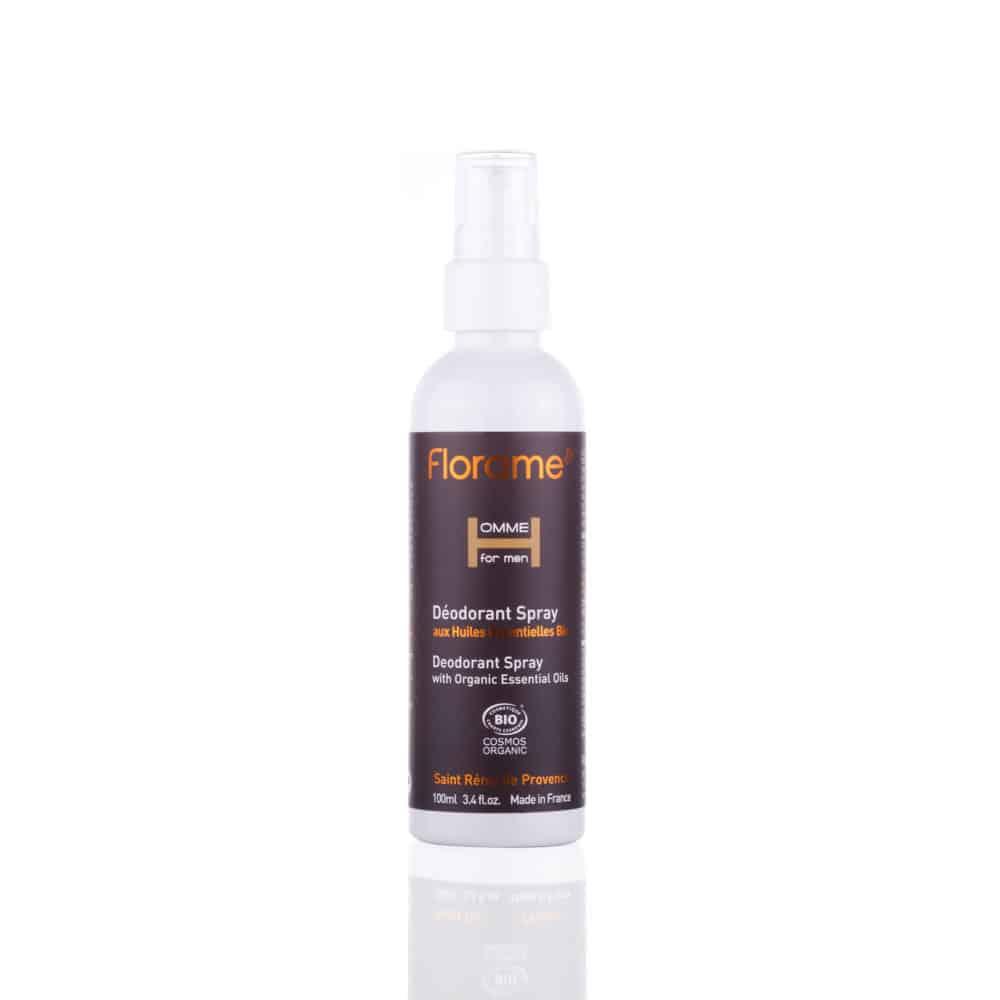 Déodorant Spray pour Homme Bio - Florame - 100ml