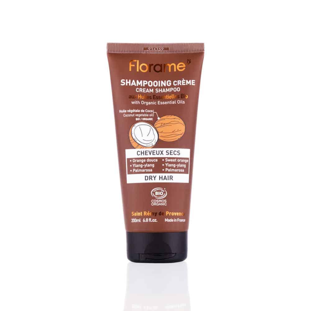 Shampooing Crème Cheveux Secs Bio - Florame - 200ml
