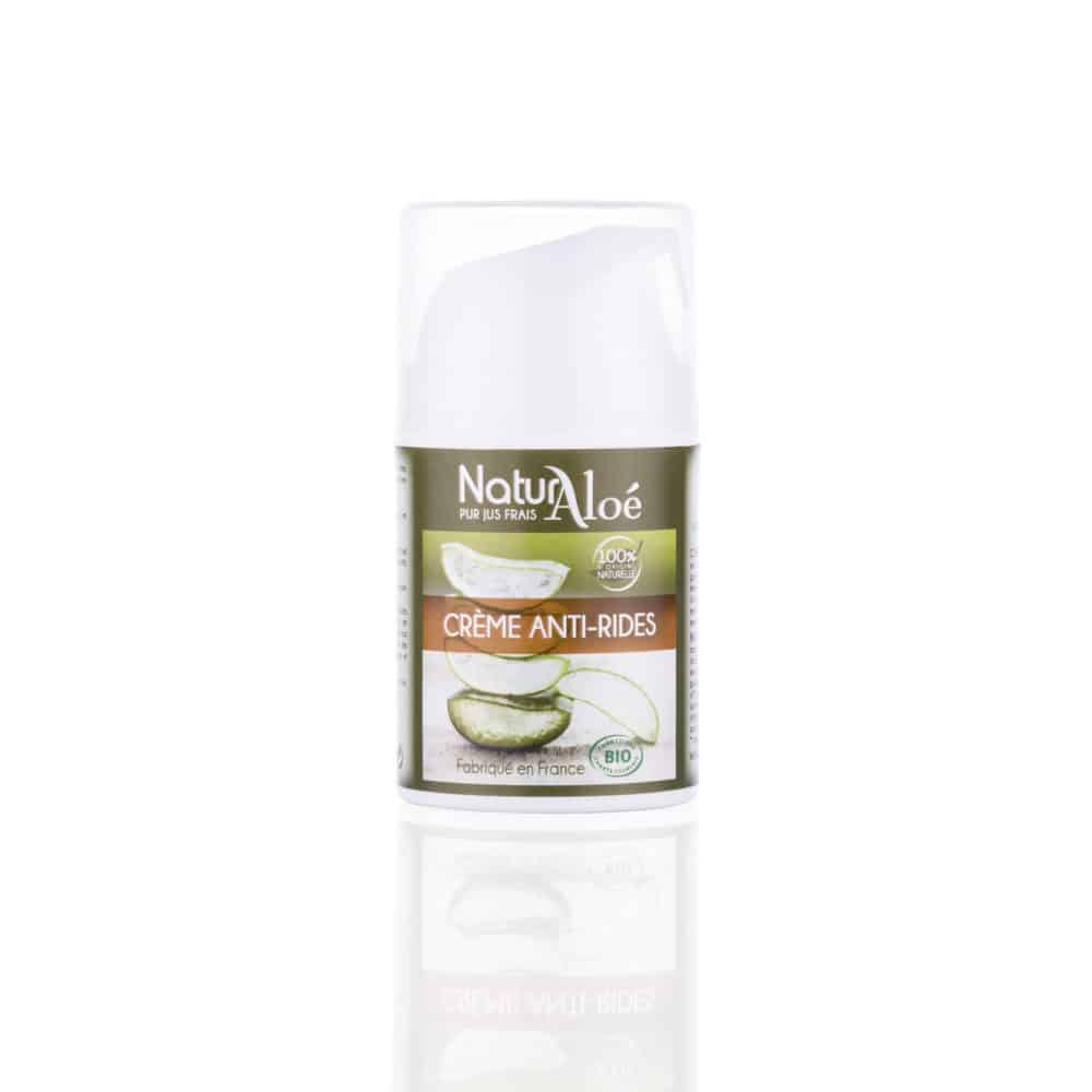 Crème Anti-Rides à l'Aloé Vera Bio - NaturAloé - 50ml