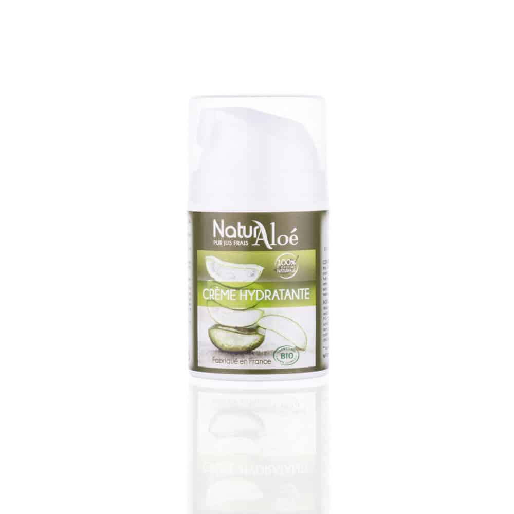 Crème Hydratante à l'Aloé Vera Bio - NaturAloé - 50ml