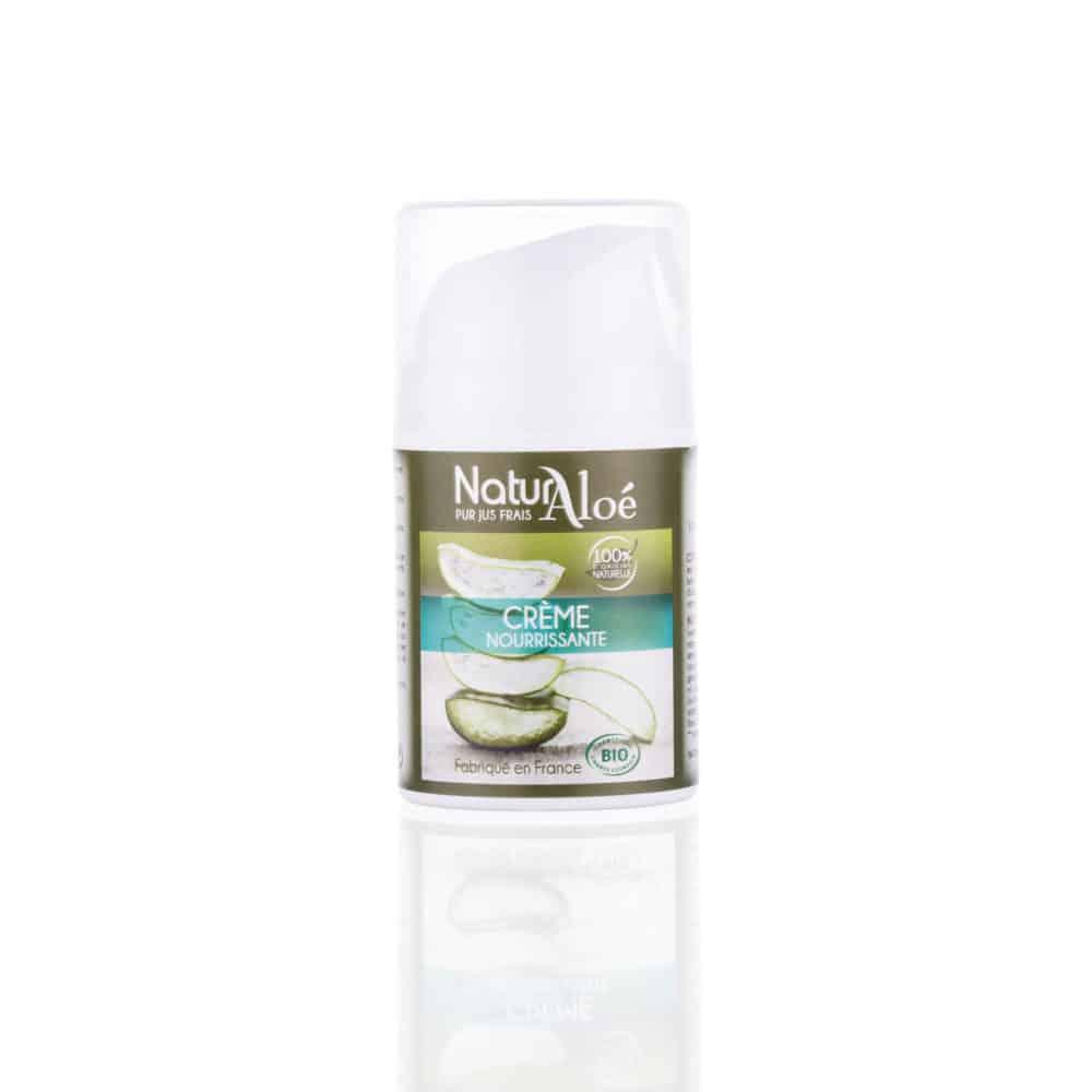 Crème Nourrissante et Hydratante à l'Aloé Vera Bio - NaturAloé - 50ml