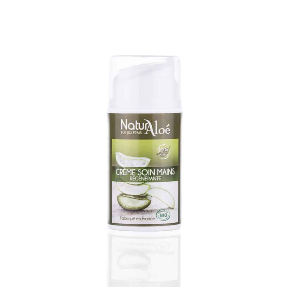 Crème Soin des Mains Hydratante à l'Aloé Vera Bio - NaturAloé - 50ml