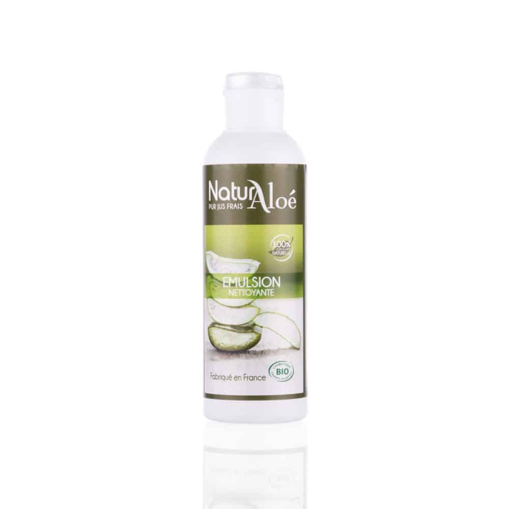 Emulsion Nettoyante à l'Aloé Vera Bio - NaturAloé - 200ml