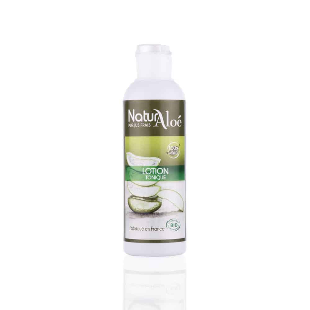 Lotion Tonique Visage à l'Aloé Vera Bio - NaturAloé - 200ml