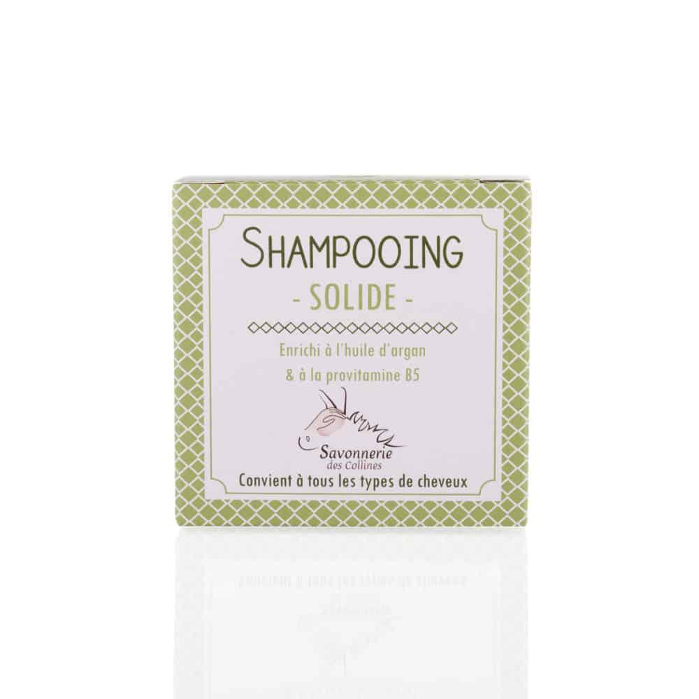 Shampooing solide à l'huile d'argan - Savonnerie des Collines - 100g